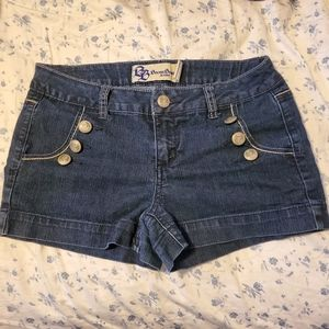 🌠3/$12 or FREE🌠 nautical denim shorts